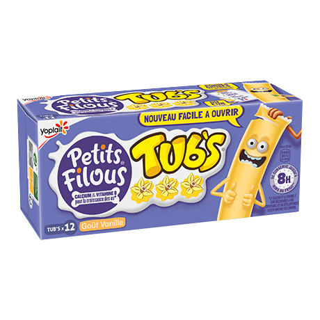 Yoplait Petits Filous Tubs Vanille